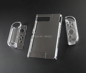 Image 3 - OCGAME Crystal Transparent Clear Protective Hard Case Cover Skin Shell for Nintend Nintendo Switch NS NX Joy con Console