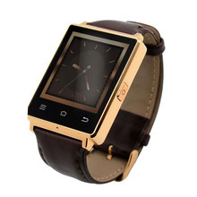 1,63 «bildschirm 3G Smartwatch Telefon Android 5.1 Quad Core 1,3 GHz GPS WiFi Bluetooth Pulsmesser 1 GB RAM 8 GB ROM Smart uhr