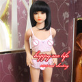 Sex Dolls 100cm Small Flat chest Japanese Real Silicone Mini Sex Doll Soft Skin Material Full Body Life Like Silicone Love Doll