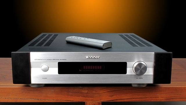 R-049 Tone Winner AD-66PRO Class A/AB1 Integrated Power Amplifier Power Amplifier 135W*2 NJW1194 Remote Control