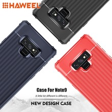 HAWEEL For Galaxy Note9 Shockproof Protective TPU Case Cover Samsung Simple Solid Color Phone Fitted 3 to Choose