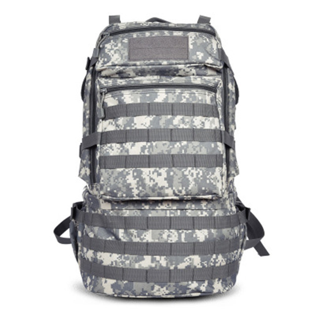Camouflage Tactical Military Outdoor Bags Travel Mountaineering Backpack 45L-55L 3P Nylon Bag Hunting Climbing Hiking Packsack 45l 3p backpack molle outdoor tactical backpacks 1000d nylon travel climbing bags outdoor sport hiking camping army bag military