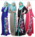 Abaya islámico Musulmán Vestidos Para Mujeres Vestidos Largos Para Las Niñas Malasia Abayas Turco Damas Ropa Mujer Vestidos Musulmanes Q1815