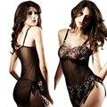 Hot Preto Sexy Lingerie Hot Erotic Lenceria Lingerie Trajes Sexy Baby Doll Sexy Lingerie Pijama Para Mulheres 3XL 4XL 5XL 6XL