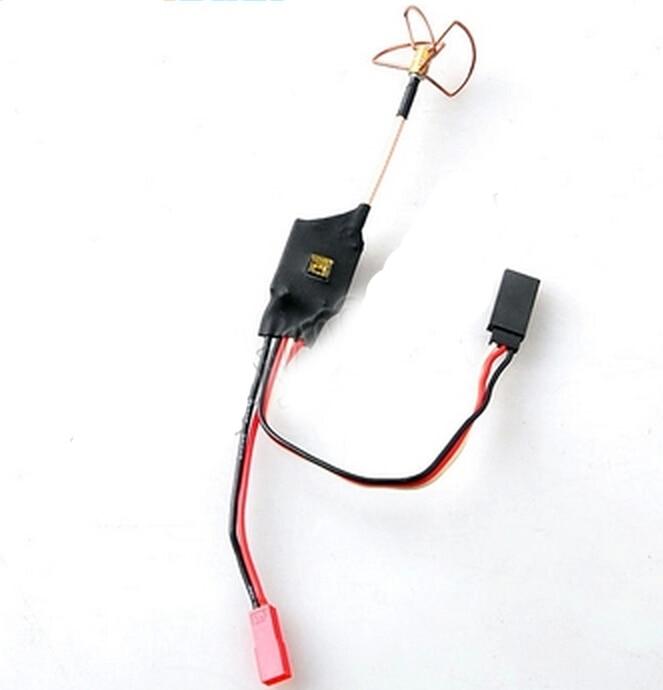 ФОТО FPV 5.8GHz 200mW Mini AV Transmission Transmitter with Antenna  Phantom Compatible + Tracking Number SKU:11452