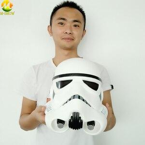 Image 5 - Darth Vader casco con máscara de Star Wars, Stormtrooper Imperial, tema de Halloween, accesorios de Cosplay para fiesta