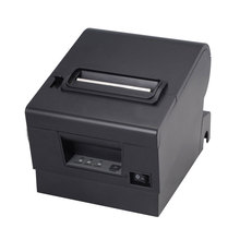 Top quality Unique  sturdy kitchen printer  80mm auto cutter receipt printer Pos receipt printer usb+serial / Ethernet