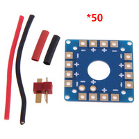 50 pcs Multi Copter Power Battery ESC Connection Board Distribution Board RC Remote Control Helicopter Spare Parts