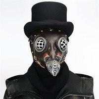 Takerlama коричневый из искусственной кожи чума врачебная маска Готический птица маска с клювом стимпанк интимные аксессуары для женщин мужчин...