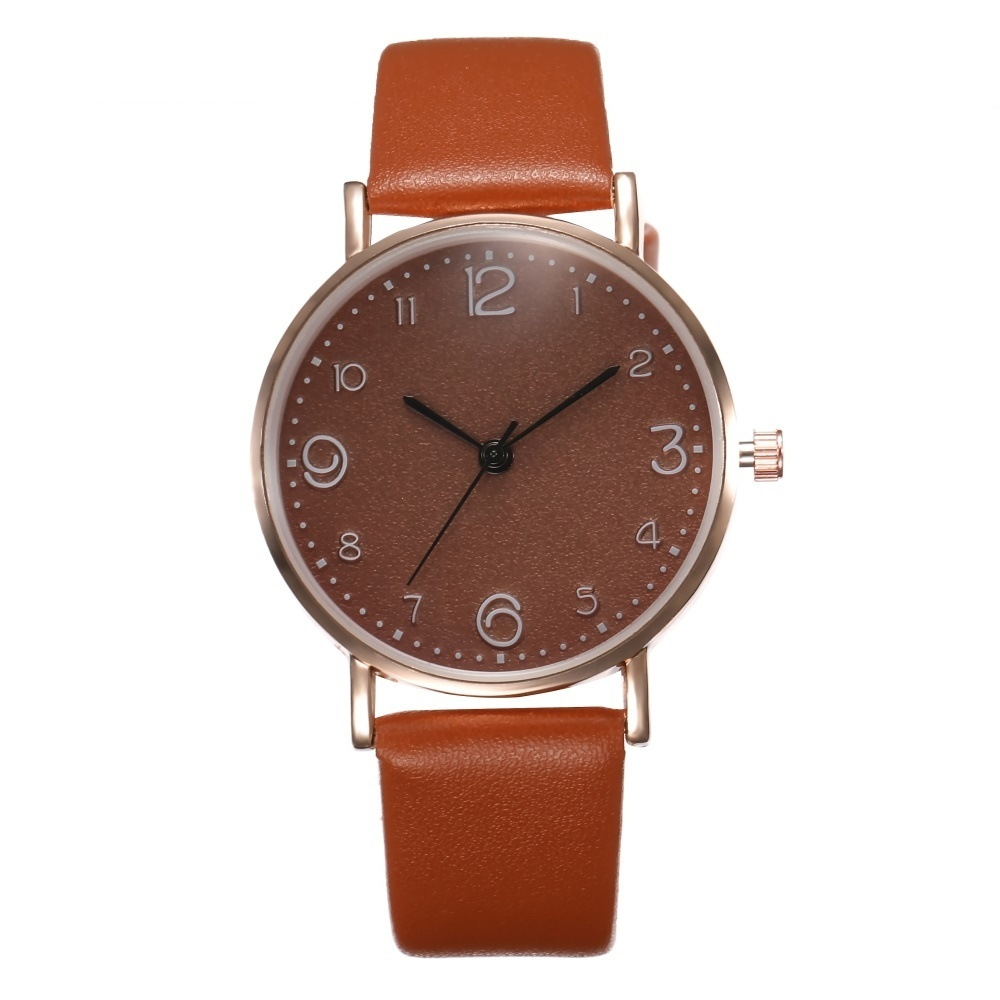 HTB19iatQSzqK1RjSZFLq6An2XXar New Style Fashion Women's Luxury Leather Band Analog Quartz