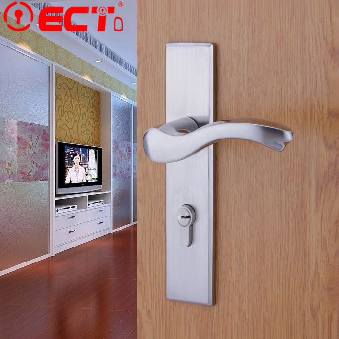 locks quiet simple wood bedroom door interior locks modern european