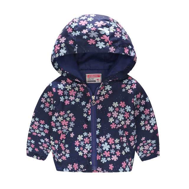 017b72e61 Boys girls jacket spring autumn thin hooded baby cute fashion zipper shirt  children's jacket Baby clothes