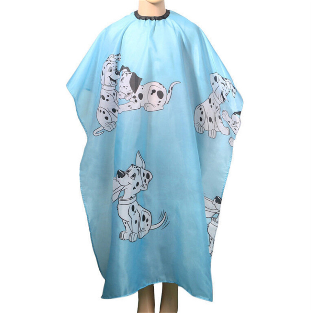 Cartoon Kid Hair Cut Hairdresser Cloth Dressing Cape Gown Cover Barber Salon Tools Dog Hair Styling Hairdresser Waterproof Cloth