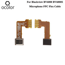ocolor For Blackview BV6000S Mic FPC Cable Repair Parts For Blackview BV6000 Mic Microphone Module FPC Flex Cable(China)
