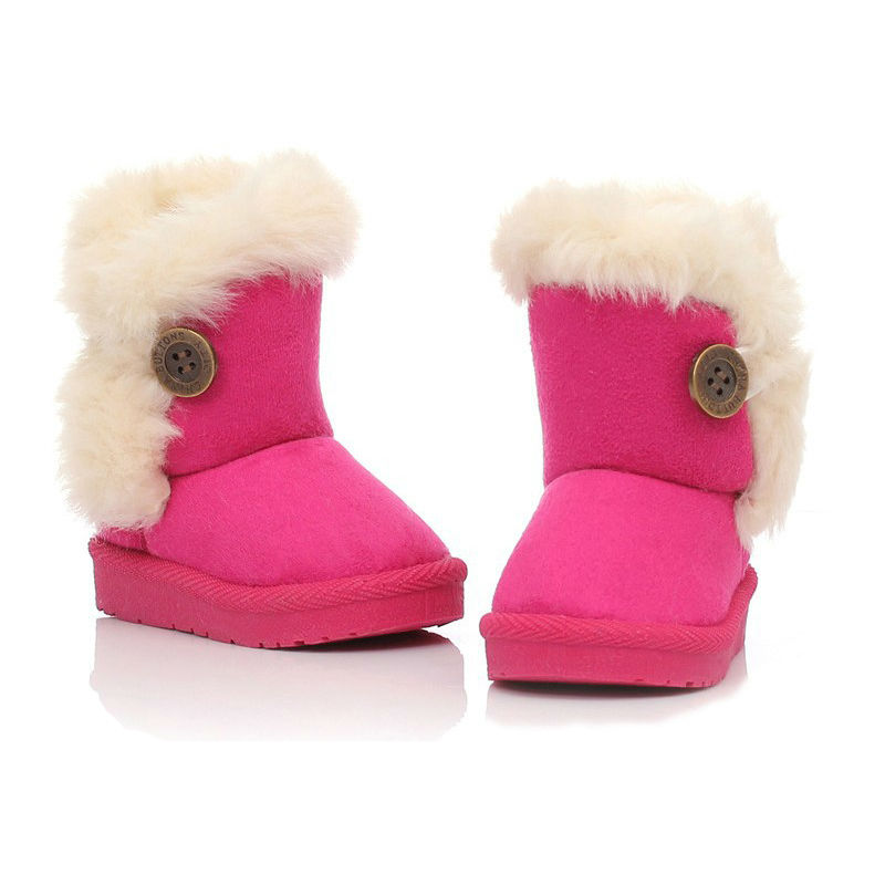 Winter-Children-Boots-Thick-Warm-Shoes-Cotton-Padded-Suede-Boots-for-Girls-Snow-Boots-Kids-Shoes-Black-Brown-Red-Pink-4