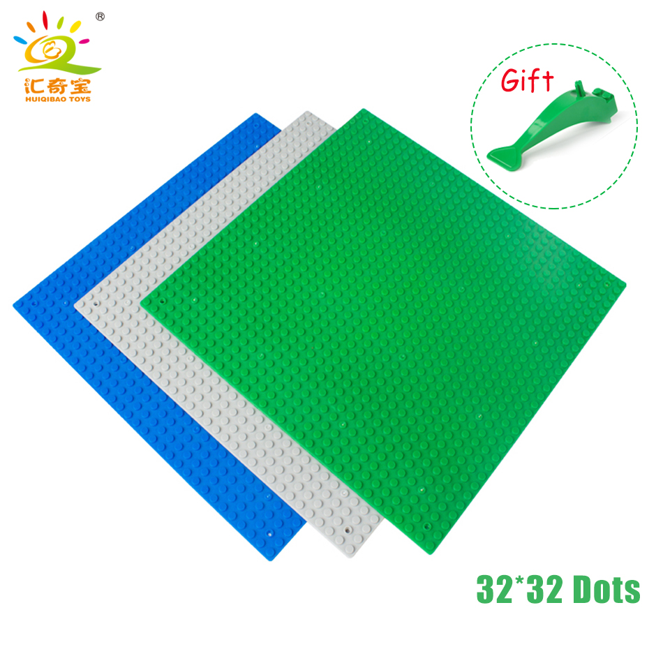 32*32 Dots Small Blocks Base Plate DIY Bricks Parts Building Blocks Action Figures Baseplate Compatible Legoed Brinquedos smartable base plate for small bricks baseplates 50 50 dots diy building blocks compatible legoing toys christmas gift 2pcs lot