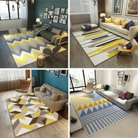 Nordic Modern Simplicity Carpet The Sitting Room The Bedroom Tea Table Rugs Non slip Mats Geometric Patterns Carpets