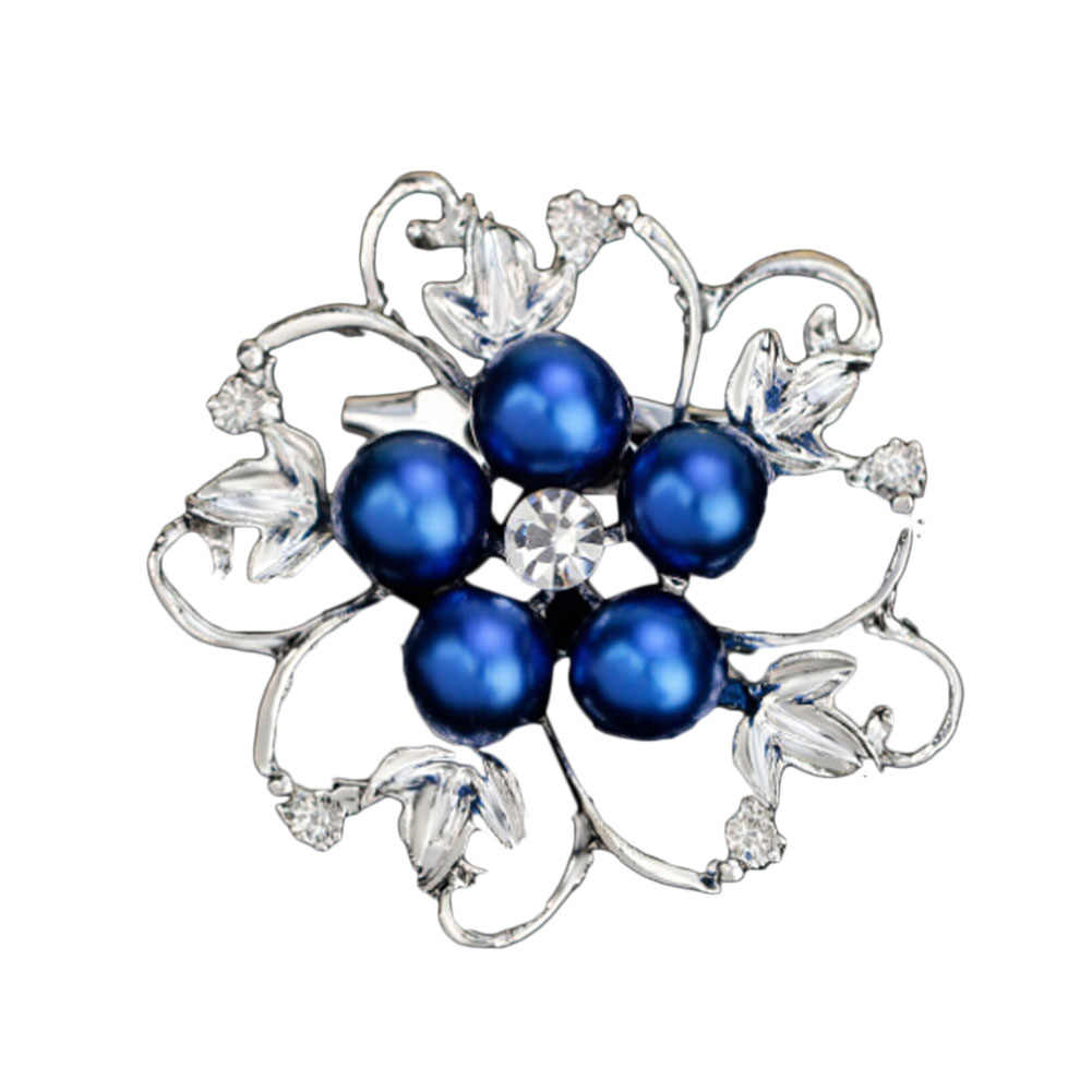 A Forma di fiore Brillante Bella CZ Branelli della Sfera del Rhinestone Spilla Bouquet Per La Cerimonia Nuziale Donne Spilli Noi Accessori Del Vestito