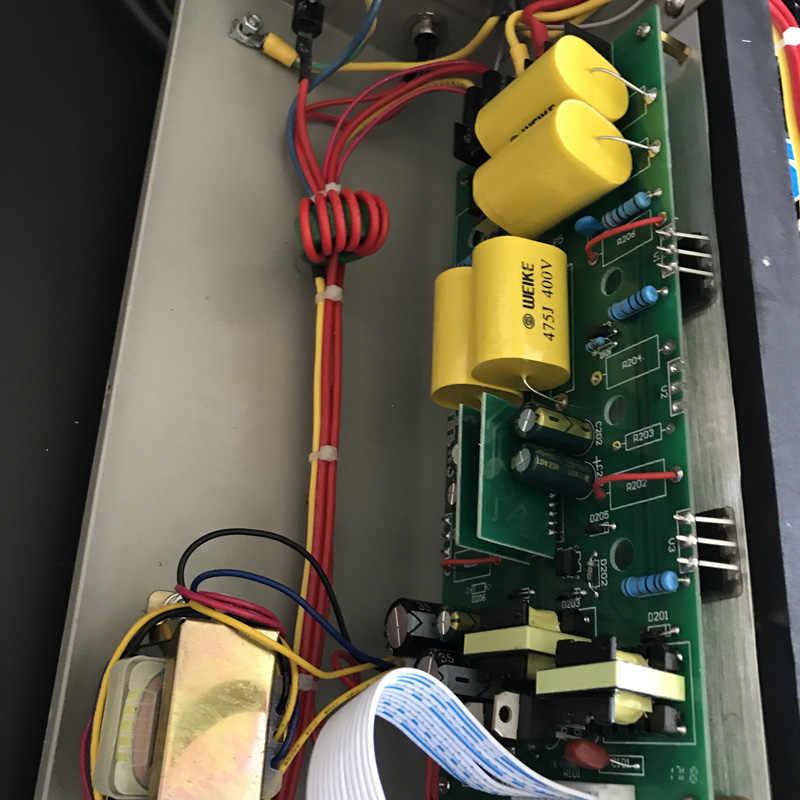 Ультразвуковой очищающий генератор 600 Вт 220 В 17 кГц/20 кГц/25 кГц/28 кГц/30 кГц/33 кГц/40 кГц ультразвуковой импульсный генератор высокой мощности