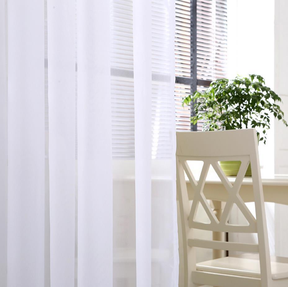 White Gauze Net Curtain Curtain Finished Product Photography Background  Plain White Cloth Balcony Bedroom A Sitting