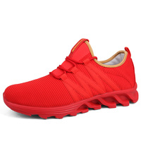 New Red Wome S Sneakers Spring And Summer Leisure Lovers Blade Low Breathable Mesh Of Sports