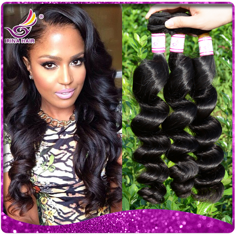 New Arrival Unprocessed Burmese Virgin Hair Weaves 3pcs Lot 7a Full
