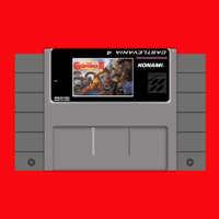Super Castlevania IV 16 bit Big Gray Game Card For USA NTSC Game Player