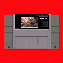 Super Castlevania IV 16 bit Big Gray Game Card For USA NTSC Game Player