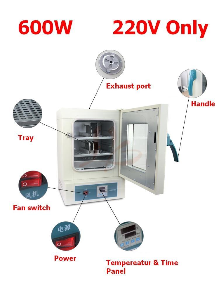 220 V 600 W NUOVO LY 628 pastiglie di riscaldamento elettrico e di soffiaggio aria di separazione del forno Per La mobile dello schermo pre di separazione - 6