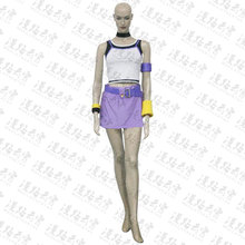 KINGDOM HEARTS Kairi Cosplay Costume Halloween Uniform Top+Skirt+Neck+Handwear