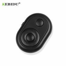 KEBIDU ワイヤレス Bluetooth リモートシャッターコントローラーボタンセルフタイマーカメラスティックシャッター電話 Selfie スティック電話