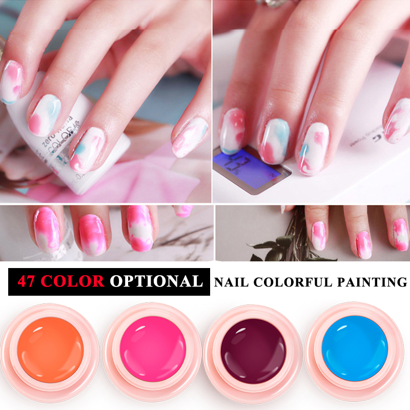 Lily angel 24Colors&36Colors/Set Nail Painting Gel Pure Color UV Gel ...