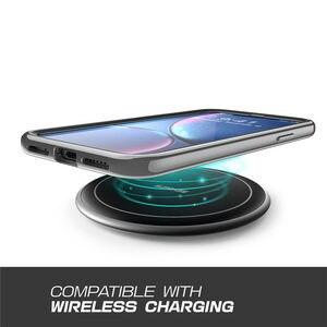 Image 2 - SUPCASE dla iPhone X Xs Case UB Electro Full Body przezroczysty Glitter Slim hybrydowy pokrowiec z wbudowanym ochraniaczem ekranu
