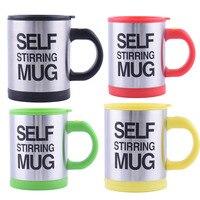 400 ml caneca de café auto agitação xícara de café canecas com isolamento duplo canecas copos de café elétrico automático inteligente mistura xícara de café