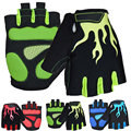 2016 New M/L/XL Motorcycle Gloves Half Finger Silicone GEL Mountain Bike Bicycle MTB Guantes Spring Men And Women Cycling Gloves