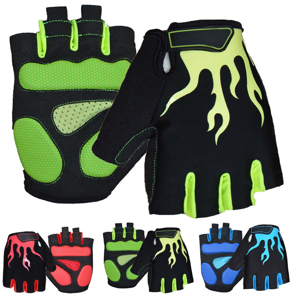 Motorcycle gloves half finger - 2016 New M L Xl Motorcycle Gloves Half Finger Silicone Gel Mountain Bike Bicycle Mtb Guantes Spring Men And Women Cycling Gloves