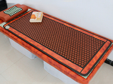 Best Quality+Digital Display ! Natural Tourmaline Physical Therapy Mat Jade Health Care Pad Infrared Heat Cushion!