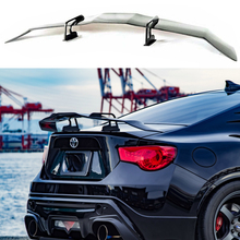 GT Style Lightweight Carbon Fiber CAR REAR WING TRUNK Lip spoiler Fit For Toyota GT86 Subaru BRZ Scion FR-S 2012 - UP for toyota gt86 subaru brz carbon fiber big gt spoiler wing auto car trunk with brackets high quality good price