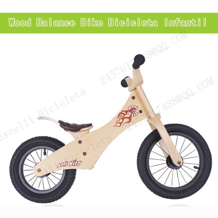 a01-Baby two wheels Wood Balance Bike for 2-6 Years age Bicicleta Infantil Balance Bike Kid's bicycle Common Childen's Cycling