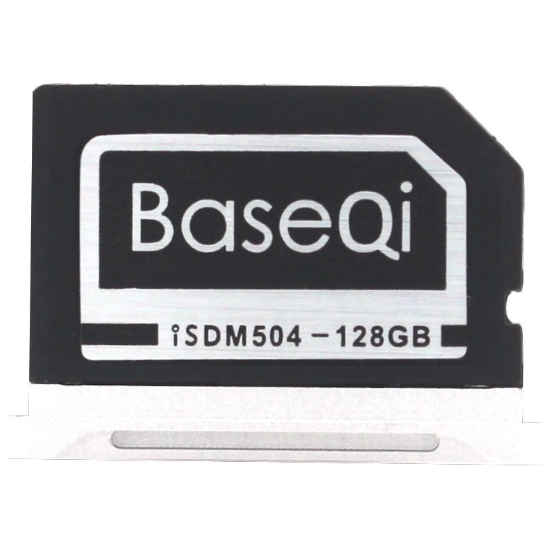 BASEQI Aluminum 128GB Storage Expansion Card for MacBook Pro 15 Retina (Late 2013 onwards) expansion card em at1 for mic 1a meter