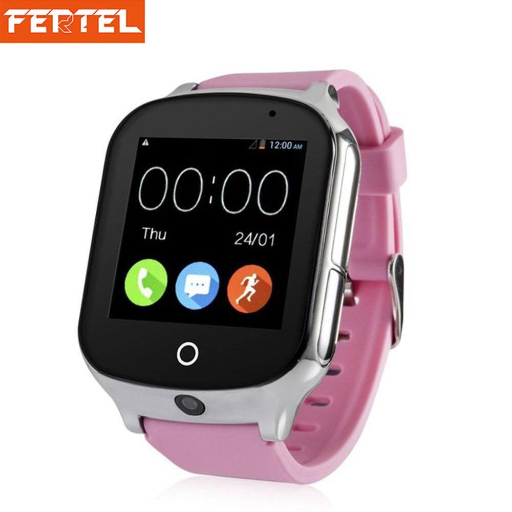 3g gps часы для детей трекер Smartwatch С sim-карты WI-FI SOS фунтов Камера здоровья шагомер A19 Просмотрам