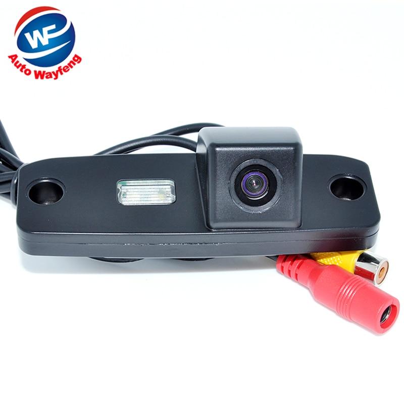 CCD de visión trasera Cámara reversa de reserva para Hyundai Elantra/Sonata NF/accentt/Tucson/terracan /Kia carens/opirus/sorento