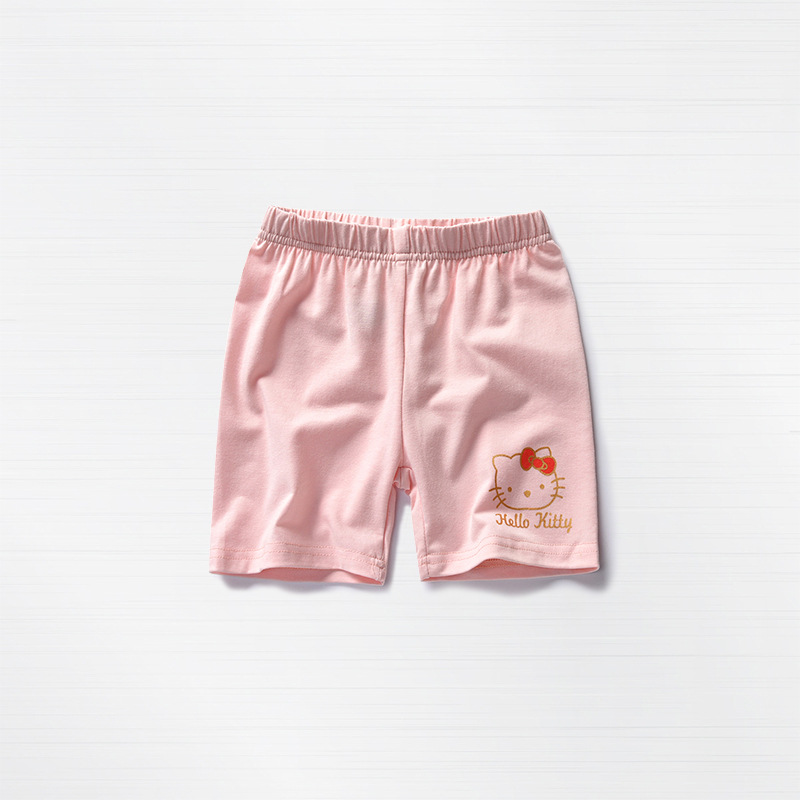 2018 New Girls Cotton Shorts Knit Shorts Casual Pants -5854