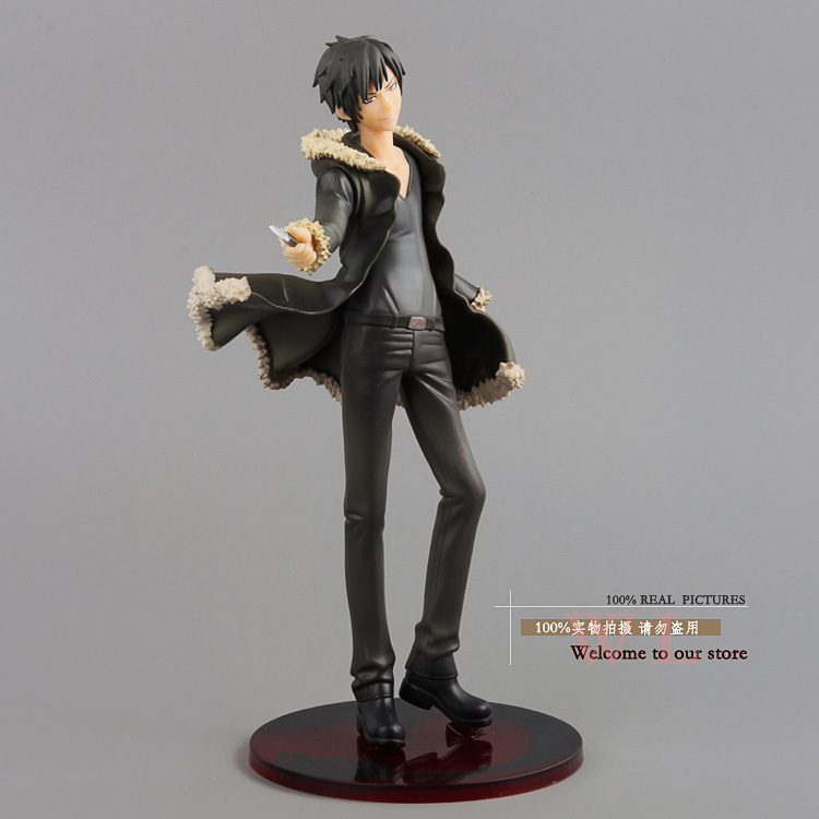 Free Shipping Original Durarara!! Orihara Izaya PVC Action Figure Collection Model Toy 8.5 21cm OTFG001 free shipping cute 4 nendoroid luck star izumi konata pvc action figure set model collection toy 27 mnfg032