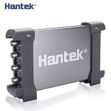 Hantek osciloscopio Digital oficial 6074BC PC, USB, 4 canales digitales, 70MHz de ancho de banda, 1GSa/s, 2mV 10V/DIV, sensibilidad de entrada