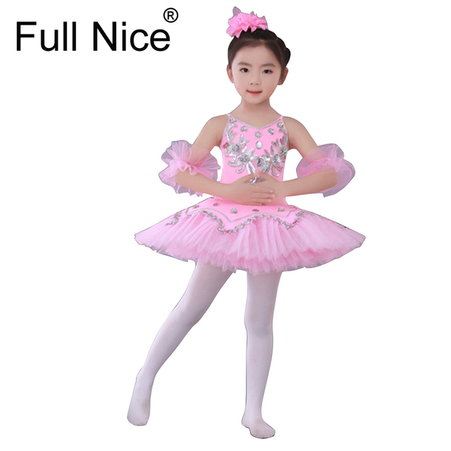 8401a9a4e Professional Ballet Costumes For kids White Blue Pink Swan Lake ...