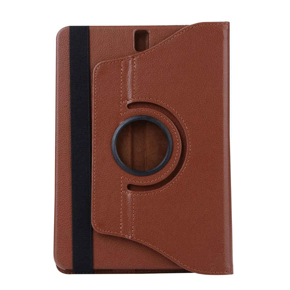 360 Rotating Case Flip Stand Smart Cover PU Leather Case For Samsung Galaxy Tab S3 9.7 T820 T825 Tablet Fundas