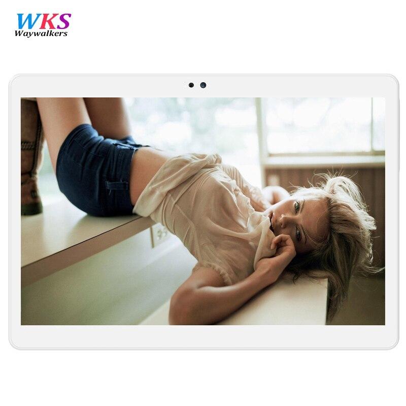 Waywalkers K109 10.1 Inch Tablet pc Quad Core Android 5.1 Tablets 2GB RAM 32GB ROM Dual SIM Bluetooth GPS smart phone 1282*800