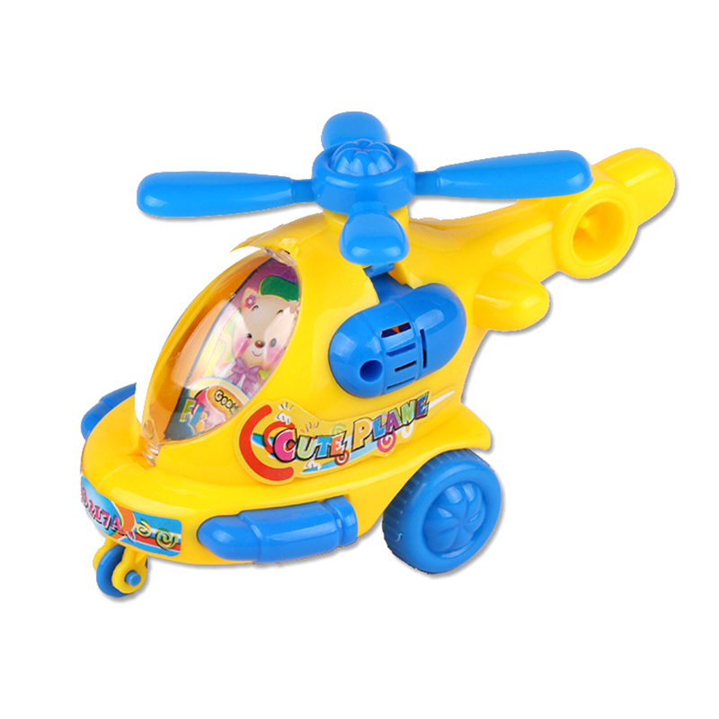 Classic Baby Favorite Gift Cartoon Animal Wind Up Toys Helicopter Clockwork Toy