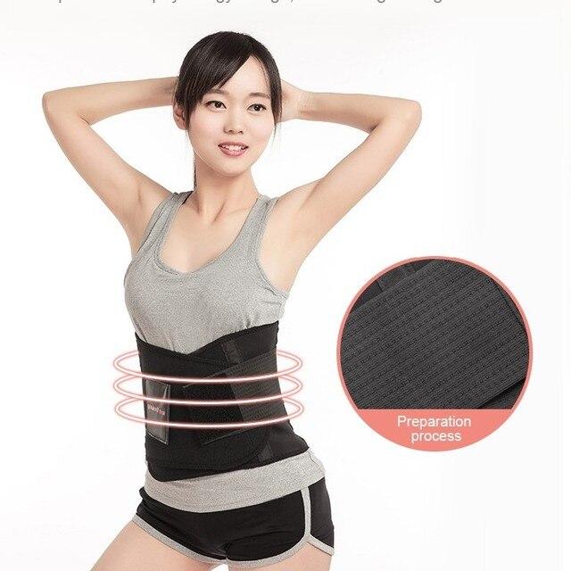 YUWELL slimming body shaper waist Belt slimming wraps Postpartum Tummy Trimmer Body Fat Waist trainer Weight Loss Creams support 1